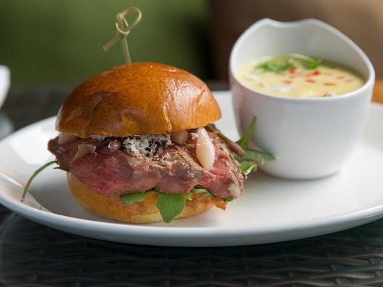 Paramour at Wayne Hotel: Grilled Ribeye Sandwich