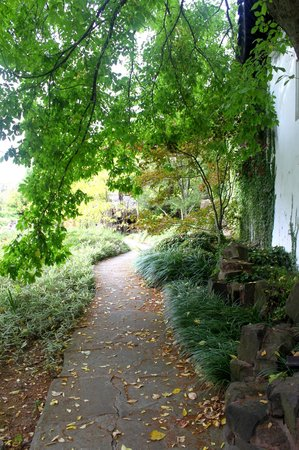 New York Chinese Scholar's Garden : Pathway