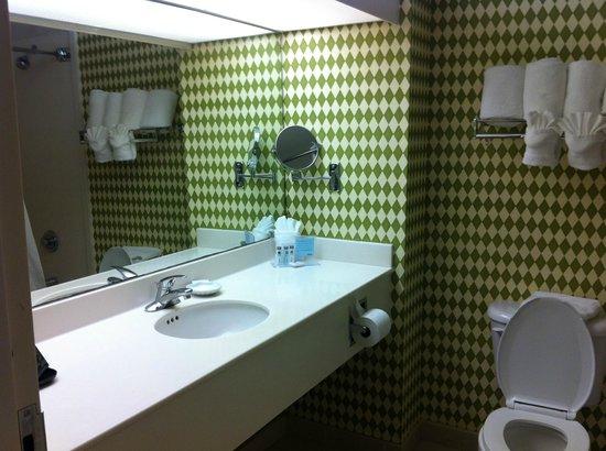 Hampton Inn Ft. Lauderdale /Downtown Las Olas Area: Banheiro limpo e amplo