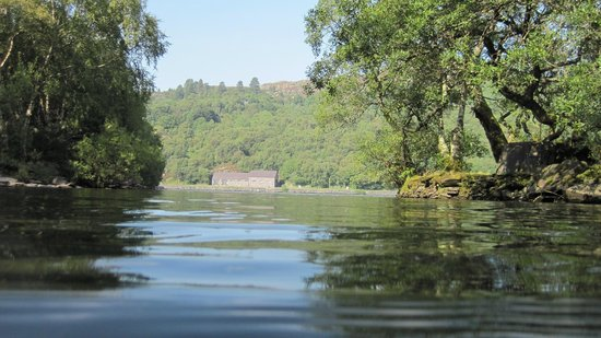 Llyn Padarn: view while swimming