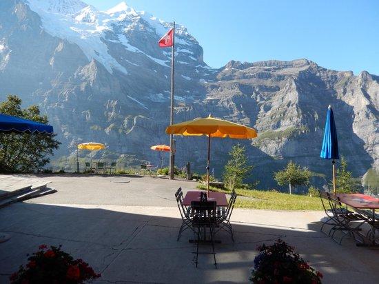 Hotel Jungfrau Wengernalp: outside