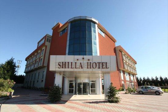 Shilla Hotel: resepsiyon lobby