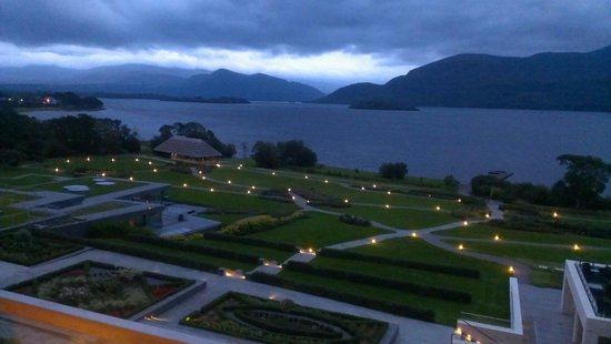The Europe Hotel & Resort: View from balcony as dusk falls