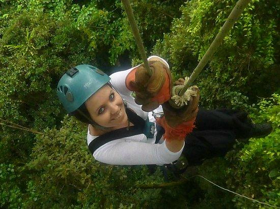 Monteverde Extremo Park : Rappell