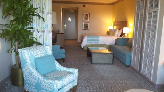Moody Gardens Hotel Spa & Convention Center: New Jr Suite