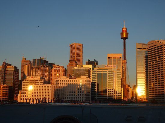 Ibis Sydney Darling Harbour: The best shot from hotel deck