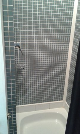 The Brunswick Hotel: could do with fresh grouting etc