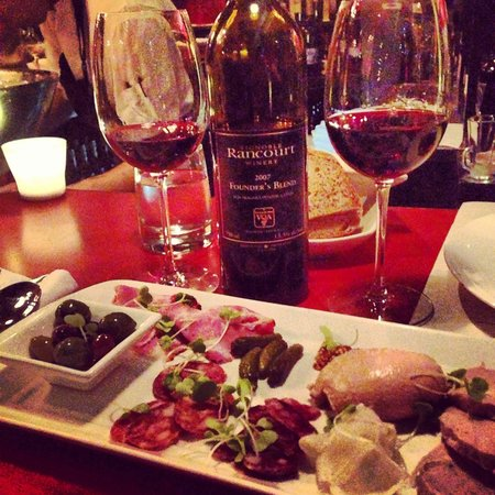 Stone Road Grille: Charcuterie plate is a local favourite!