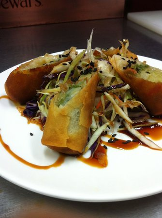Amigos Bar and Grill: Spring rolls