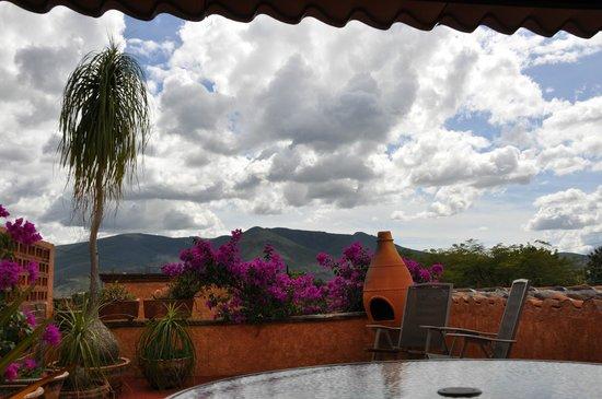 Casa Adobe B&B: View from the roof veranda