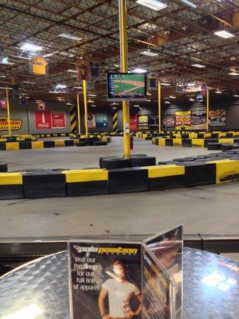 Pole Position Raceway - Indoor Karting: track