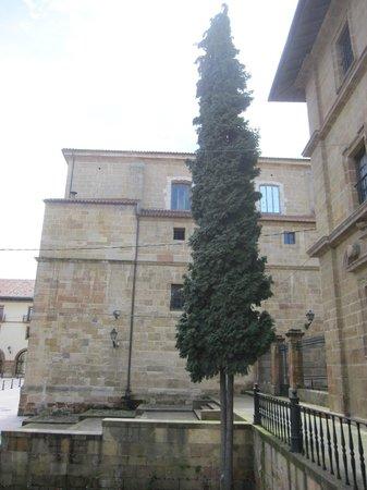 Monasterio de San Pelayo: Vista parcial del exterior.