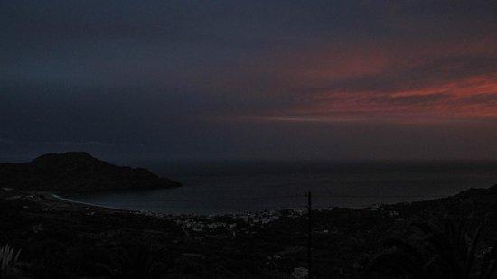 Chrisanthi Studios & Apartments: Plakias bay - sunset from Chrisanthi Studios