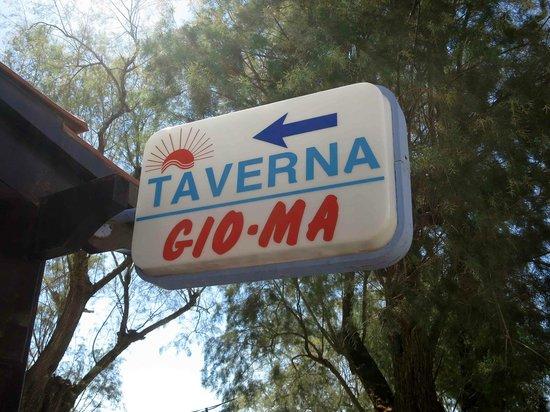 Gioma Taverna: Their Small Sign