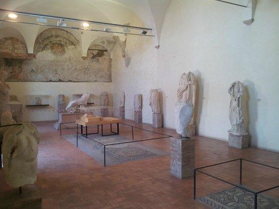 Teatro Romano: interior do museu