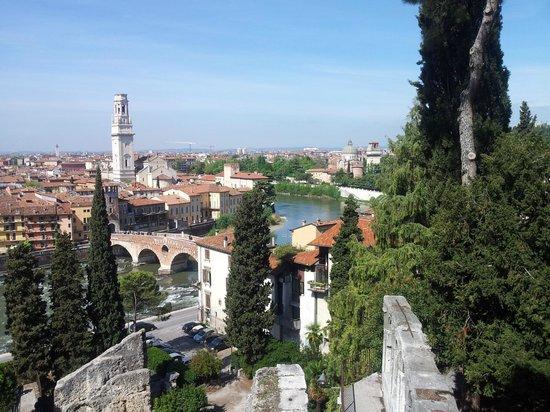 Teatro Romano: Vista da cidade