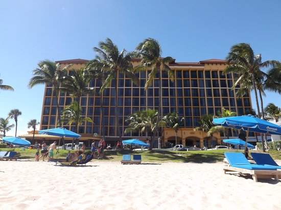 Wyndham Deerfield Beach Resort View Of Hotel From