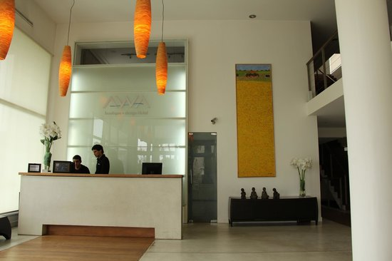 Awa Boutique and Design Hotel: Recepção