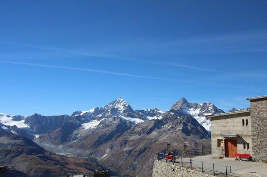 Parkhotel Beau Site: A caminho de Zermatt