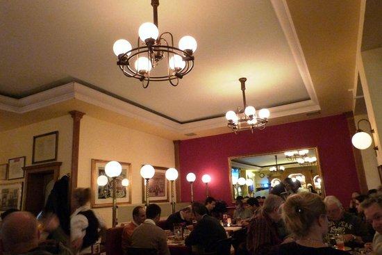 Conrad's Restaurant: Vista do restaurante