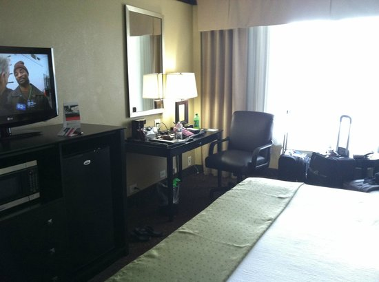 Holiday Inn Chicago Oakbrook : desk