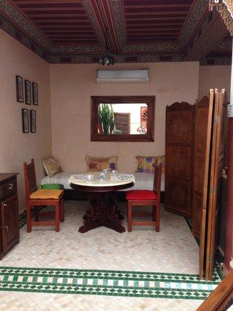 Riad Euphorbe: Salle à manger