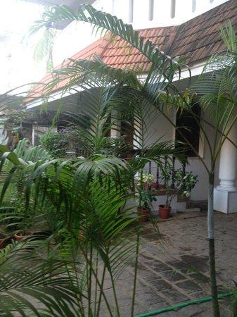 Ann's Residency : Veiw from Restaurant
