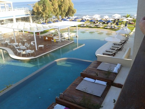 SENSIMAR KALLISTON Resort & Spa by ATLANTICA: view from our room(330)x