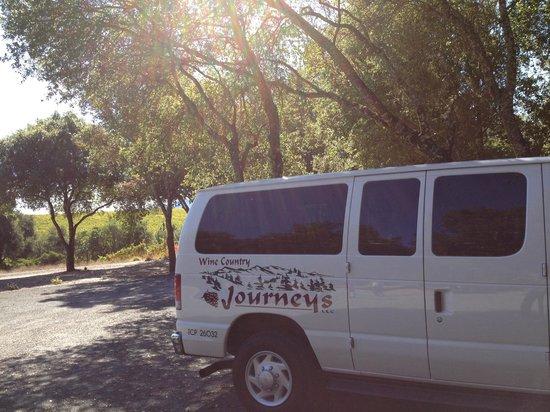 Wine Country Journeys LLC: The comfy van