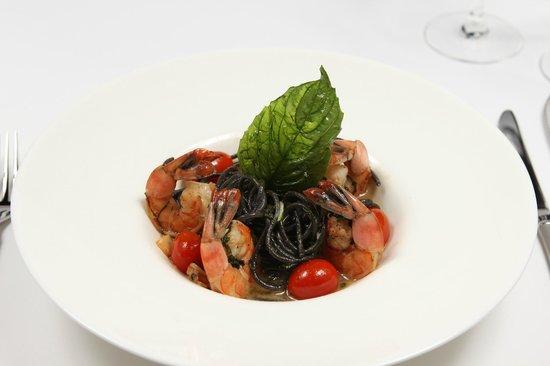 Piccolo Ristorante : Shrimp Aglio e Olio pasta