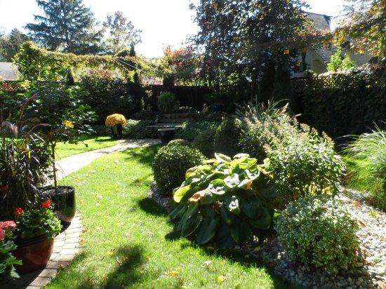 Canterbury Inn: Back garden