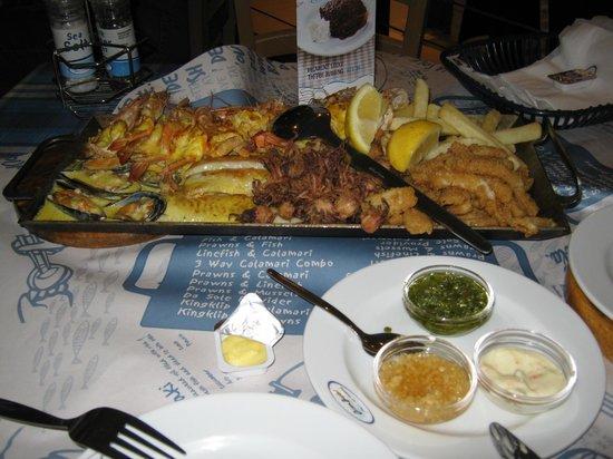 Ocean Basket: prato com todos os frutos do mar