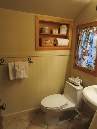Alpine Village Cabin Resort - Jasper: Pretty bathroom!
