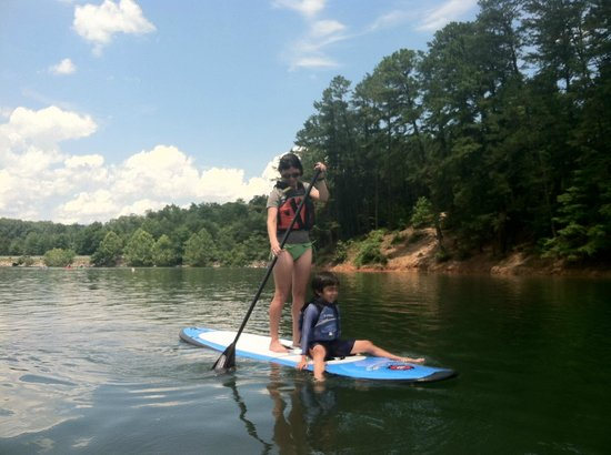 Bryson City Outdoors: Family Lake SUP Outing