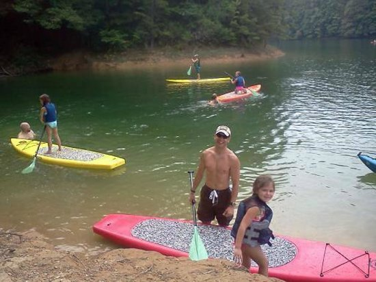 Bryson City Outdoors: SUP Birthday Party
