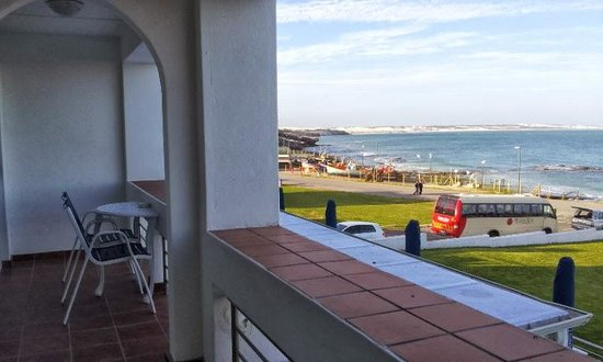 Arniston Spa Hotel: Our double balcony overlooking the sea