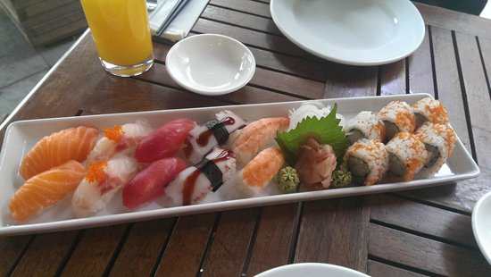 See Sushi: Sushi platter.