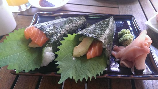 See Sushi: Salmon and Avocado Temaki
