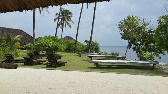 Trikora Beach Club & Resort: facing the ses