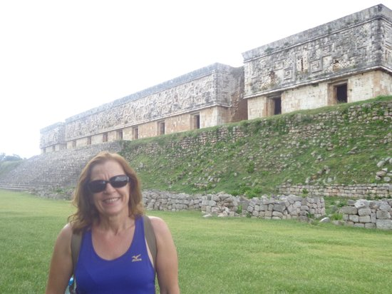Temples of Uxmal: Quadrangulo das Monjas