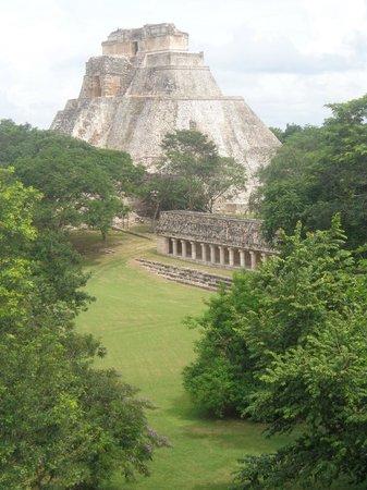 Temples of Uxmal: A melhor vista!!!