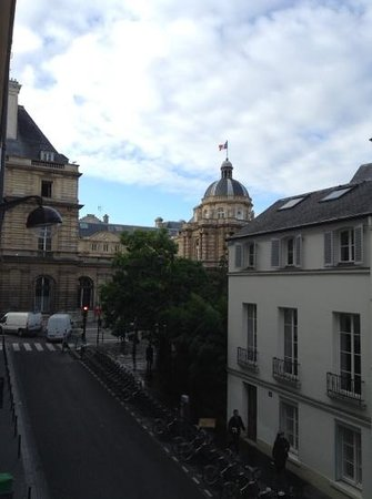 Hotel Michelet Odeon: view from our window