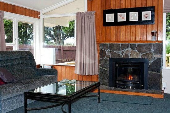 Seagulls Guesthouse: Fireplace