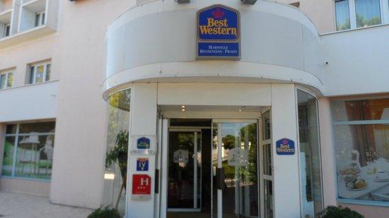 Best Western Marseille Bonneveine Prado : Entrada do Hotel