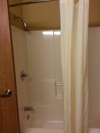 Best Western Plus Executive Inn: Shower