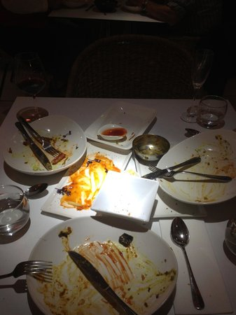 Malabar Restaurant: pretty much says it all !!!