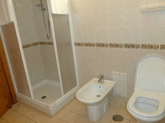 Villa Rosita: Small Shower