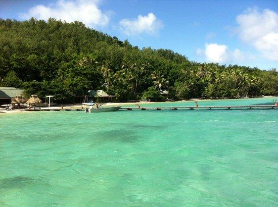 Turtle Island Resort: Beachfront