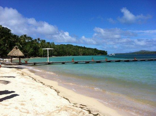 Turtle Island Resort: Beach