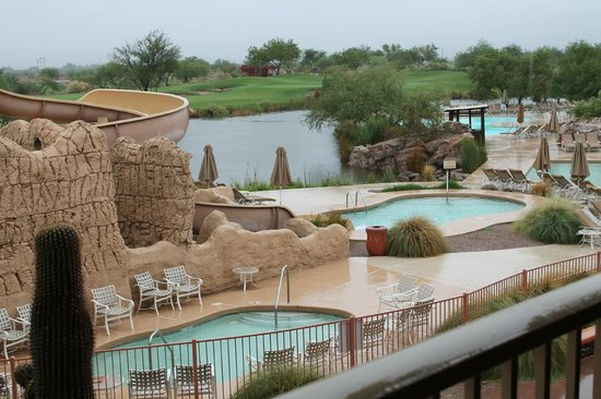 Sheraton Grand at Wild Horse Pass: view from room